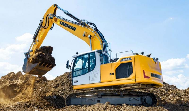 Liebherr presenta en 2019 seis excavadoras sobre orugas de la generación 8
