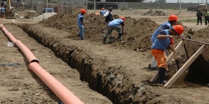 Realizarán la primera obra por impuestos de agua y saneamiento en Lambayeque