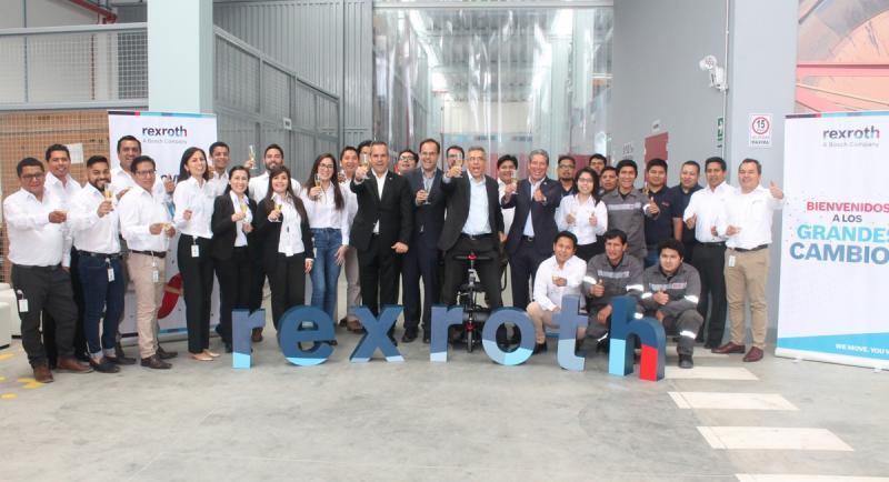 Rexroth inaugura oficialmente sus nuevas oficinas en Perú
