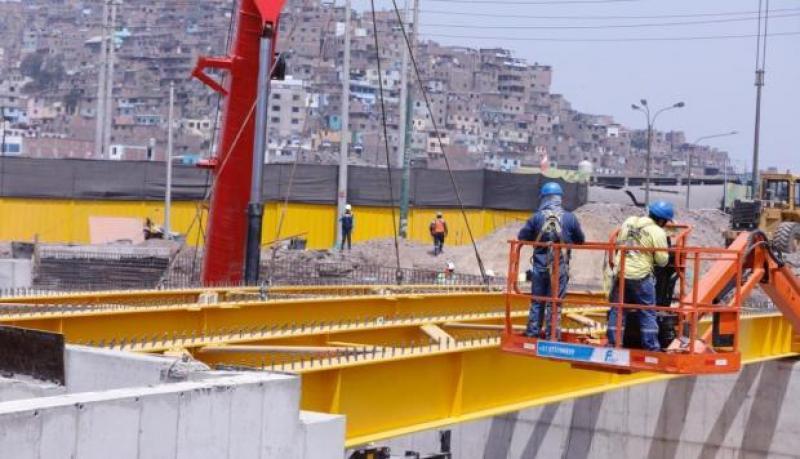 Construcción del puente Circunvalación- Arriola está avanzada en un 90%