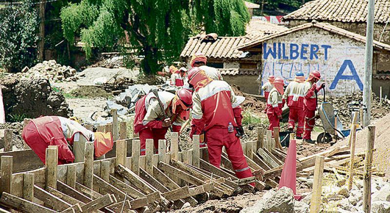 Cusco: Moscoso deja S/ 29 mllns. para ejecutar dos obras en 2019