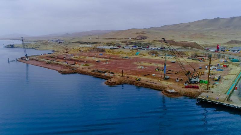 Obras de modernización del puerto de Paracas muestran 13% de avance