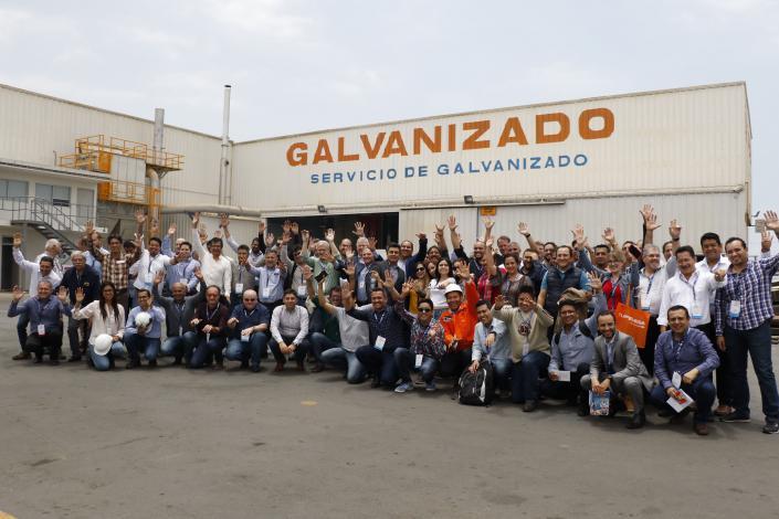 LATINGALVA 2018: empresarios de la región visitan modélica planta de galvanizado de TUPEMESA
