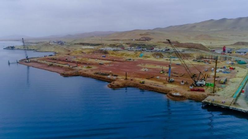 Obras de modernización del puerto San Martín tienen 13% de avance