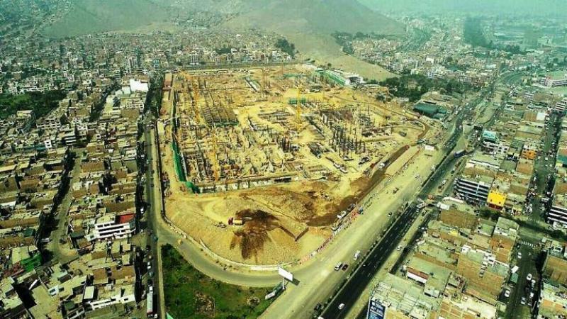 Registran avances de obra en centros comerciales de Lima Este