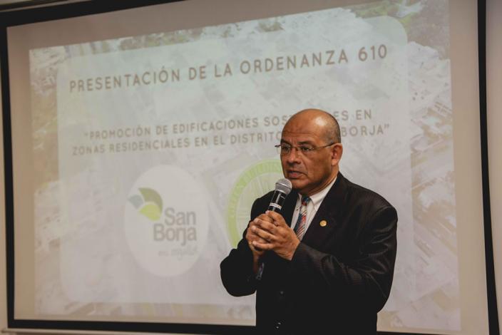 Peru GBC, lanza oficialmente la Ordenanza 610 de Promoción de Edificios Residenciales Sostenibles en el distrito de San Borja.