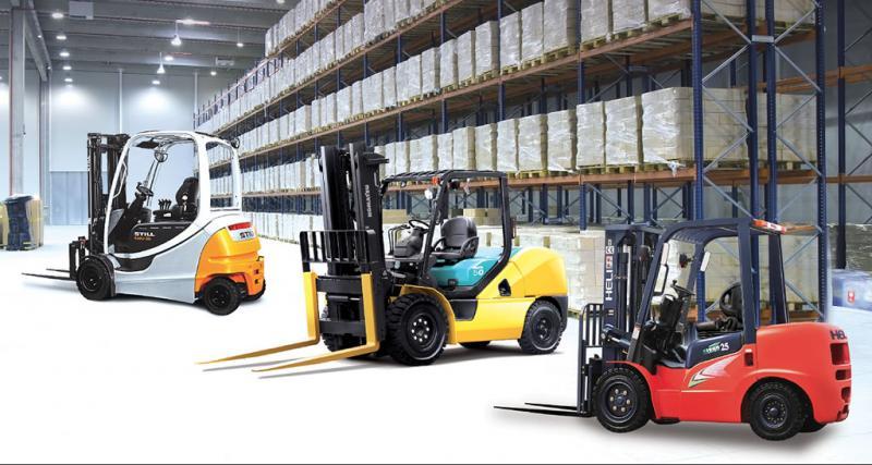 Dercomaq lidera importación de equipos de material handling dirigidos al sector industrial