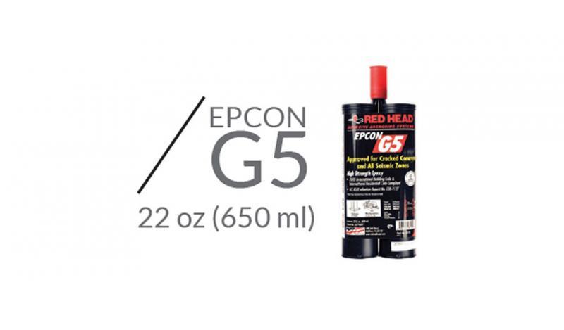 CDV INGENIERÍA ANTISÍSMICA - Anclaje Químico Epcon G5