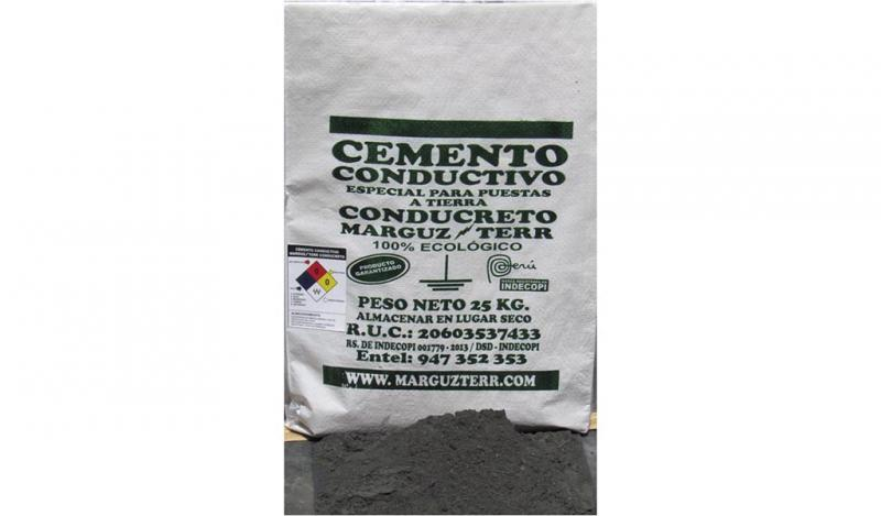 MARGUZTERR S.A.C. - Cemento Conductivo Marguzterr