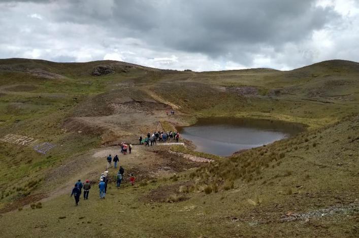 Minagri construirá 50 qochas en la región Cusco este año