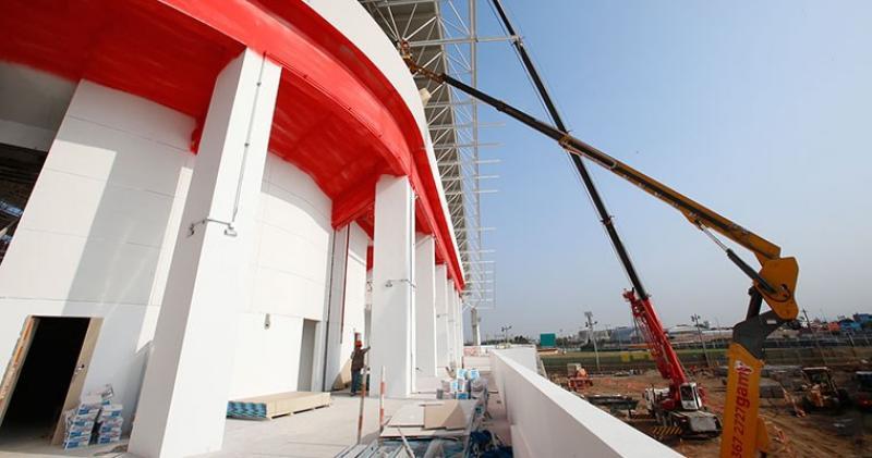 Polideportivo de Lima 2019 será un legado para el Callao