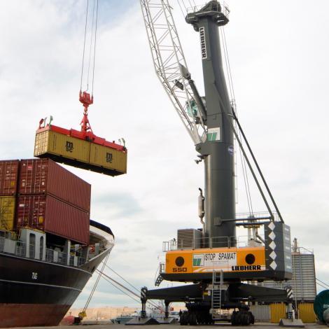 Terminal Portuario Paracas adquirió dos grúas para agilizar procesos de carga y descarga en el puerto