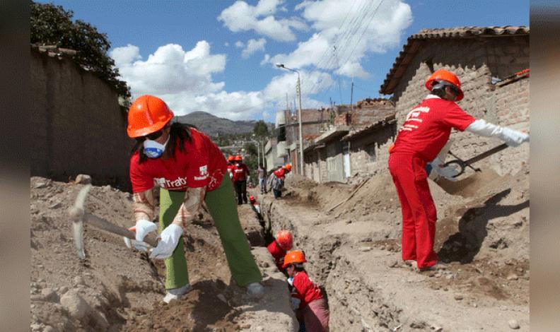 MTPE: programa Trabaja Perú disminuirá puestos laborales este año
