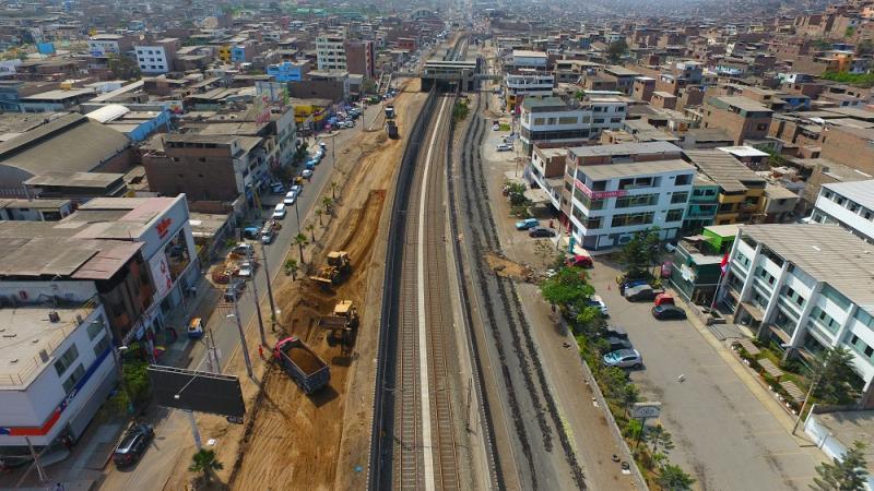 Municipio de Lima continúa obras de mejoramiento en Lima Sur