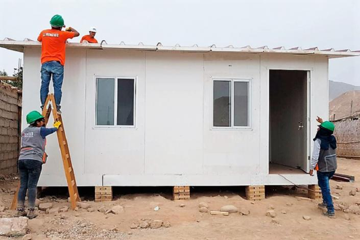 Ministerio de Vivienda enviará 312 módulos temporales para damnificados de Tacna e Ica