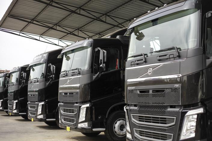 TRANSCORD amplía su flota con la adquisición de camiones Volvo FH