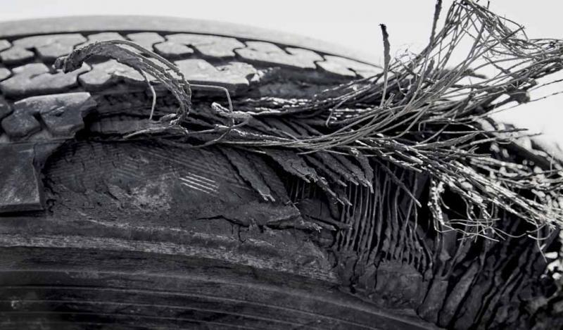 Las fibras de los neumáticos viejos pueden mejorar la resistencia al fuego del concreto