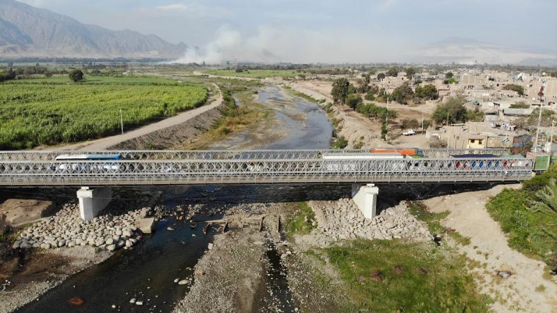Transfieren S/ 148 millones para reponer 44 puentes afectados por el Fenómeno de El Niño Costero