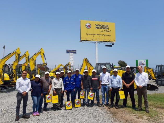 La Academia WACKER NEUSON  llega al Perú con un innovador y completo programa anual de capacitaciones