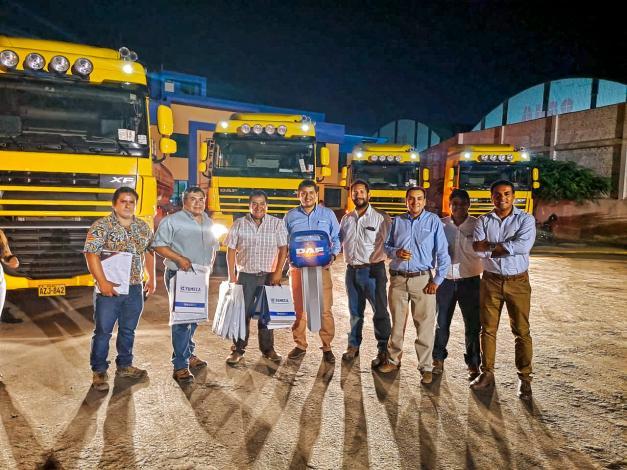 Nueva flota de camiones DAF para Dayanna Ingenieros