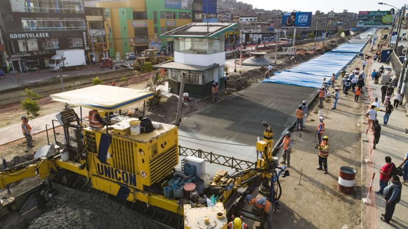 """Alcalde Muñoz: """"obras en las avenidas de los Héroes y Pachacútec avanzan a buen ritmo"""""""