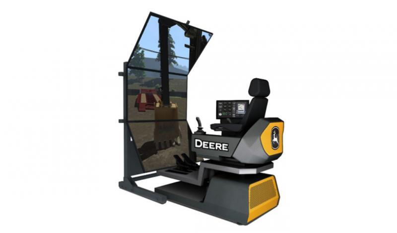 John Deere presenta la nueva generación de simuladores de construcción