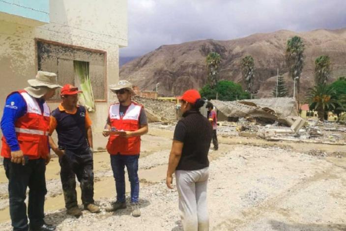 Cofopri ejecutó catastro de daños en 410 viviendas en Moquegua