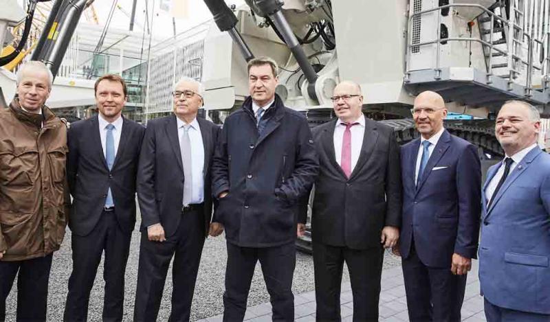 Comienza Bauma: la feria más grande de construcción y minera en Múnich