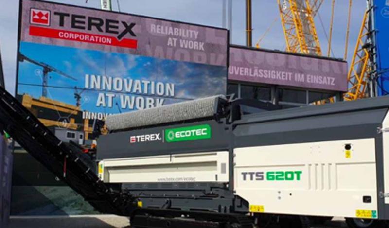 Nuevo TTS 620T en el stand de Terex