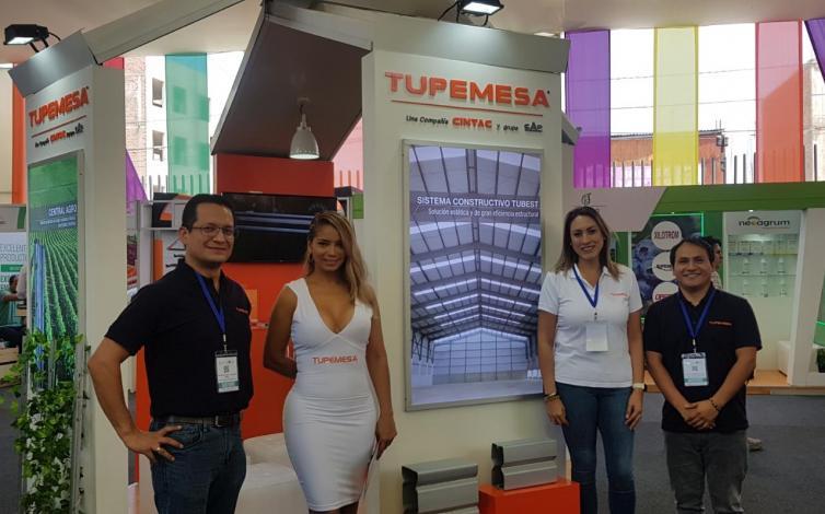TUPEMESA presentó al sector agroindustrial productos en acero galvanizado, más duraderos y funcionales