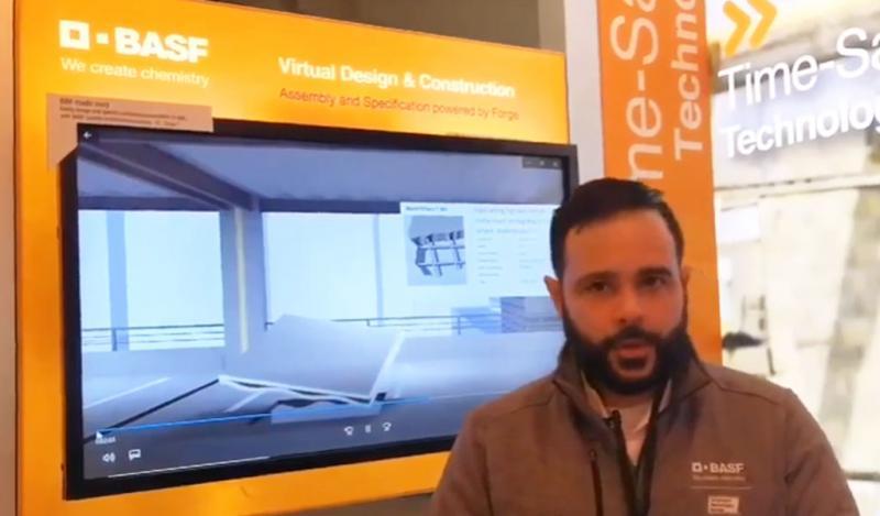 BASF presentó en exclusiva BIMSMITH en el World of Concrete 2019