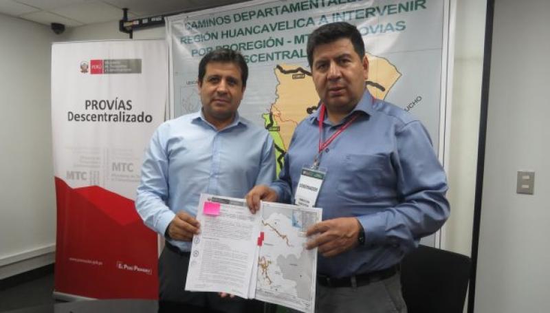 Provías Descentralizado firmó tres convenios con el Gobierno Regional de Lima