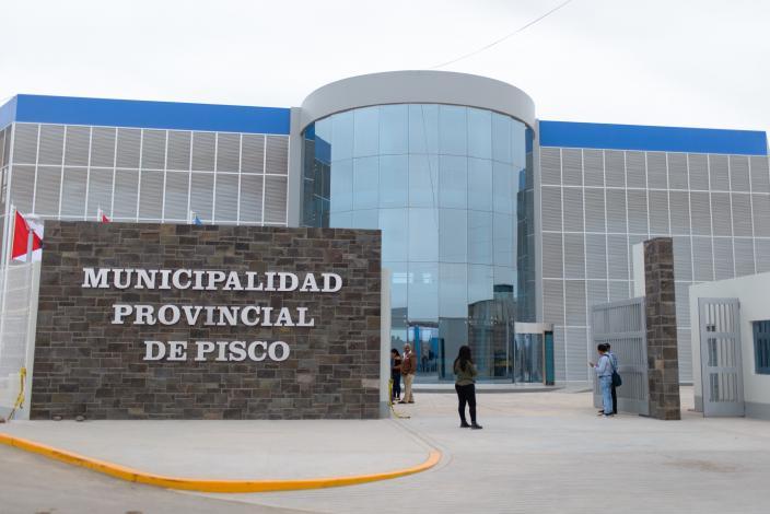Centro de Atención al ciudadano es inaugurado por la nueva Municipalidad de Pisco.