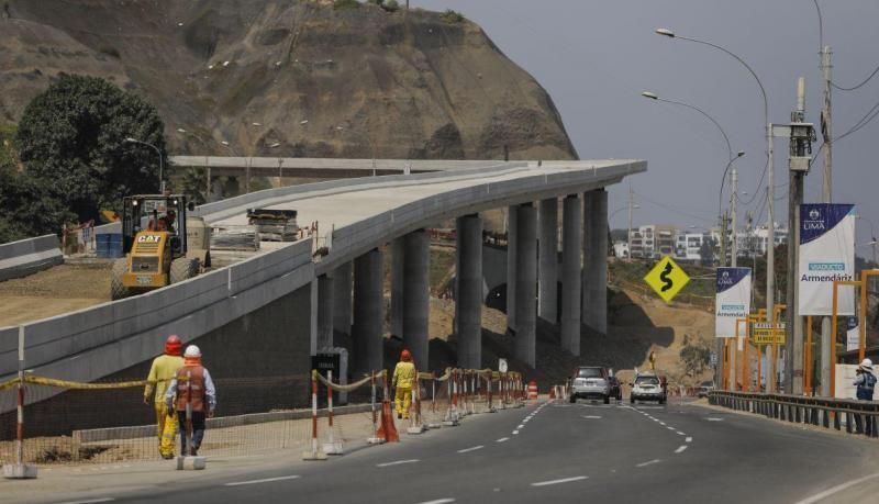 Obra del puente Armendáriz estará lista para finales de junio