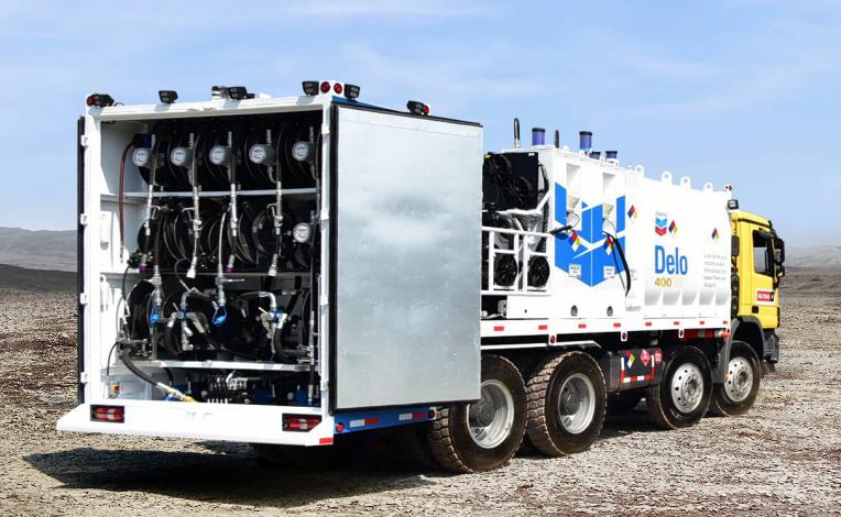 Camiones lubricadores de alta capacidad cambian tendencia en el sector minero