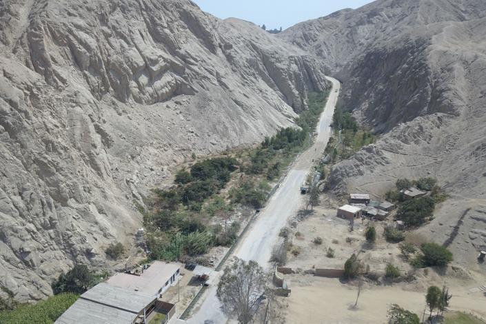 Inician obras de reconstrucción en vía que une la Panamericana Norte con la provincia de Huaura