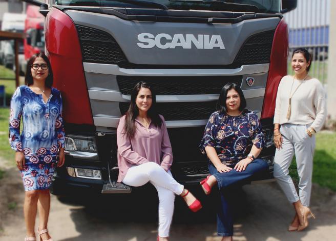 Scania del Perú recogió el testimonio de 4 mujeres son parte del 10% que ocupan posiciones de liderazgo dentro de la empresa.