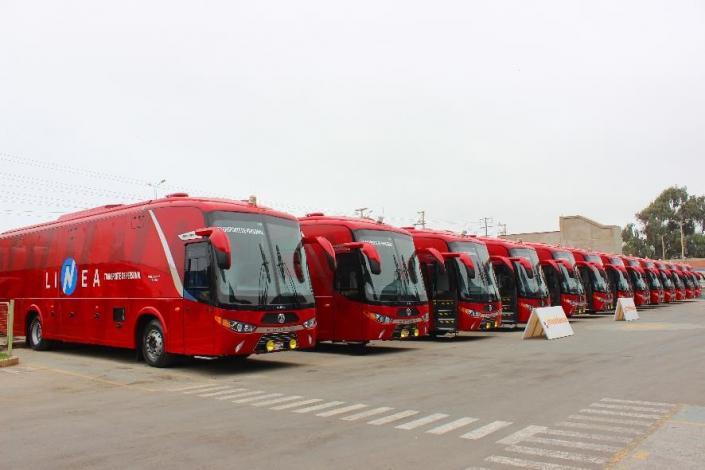 Modasa crece más del 50% en la venta de buses al sector minero