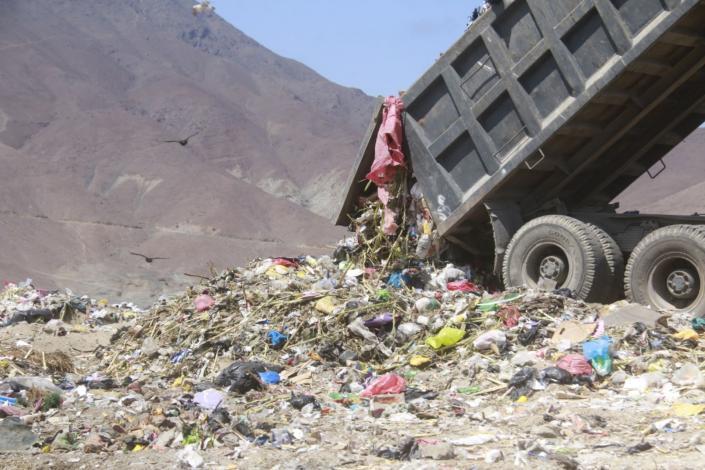 Huaraz: Promueven construcción de planta de tratamiento de residuos