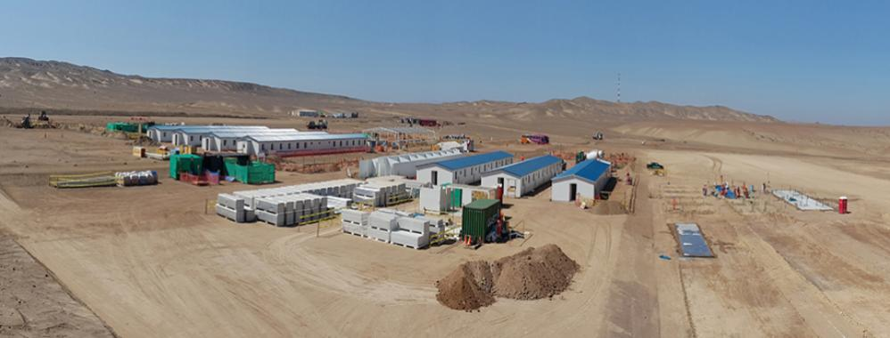 Proyecto Mina Justa reporta avance de 30% y proyecta iniciar producción en 2020