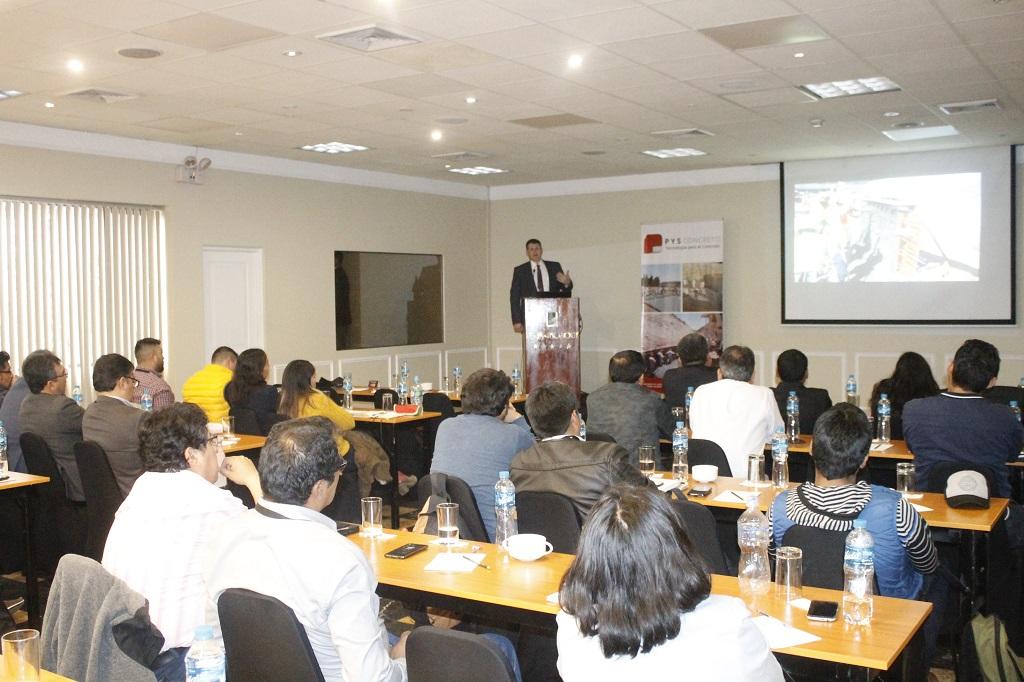 Seminario Internacional sobre Concreto Lanzado llenó las expectativas de los participantes