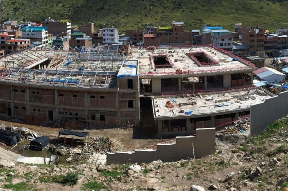 Apurímac: hospital de Challhuahuacho beneficiará a 52,000 personas