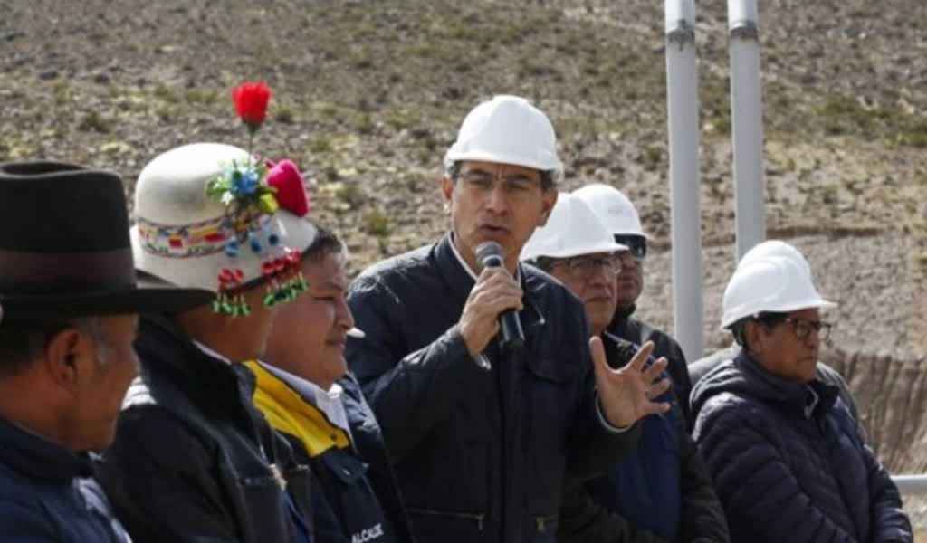 Vizcarra indicó que debe entablarse un diálogo con las autoridades regionales para autorizar la construcción de la mina Tía María