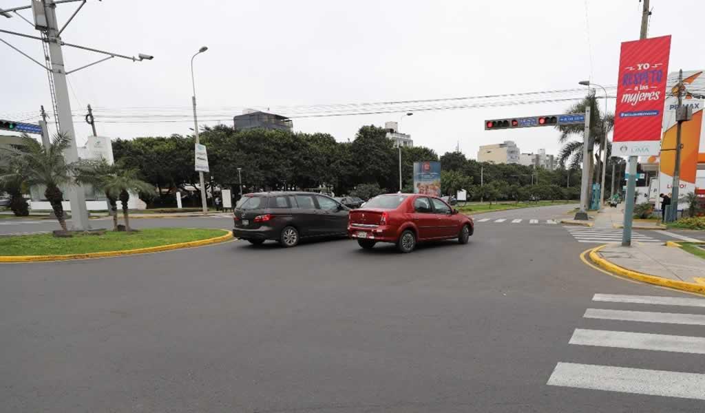 Municipalidad de Lima entregó pistas de Av. San Luis completamente rehabilitadas