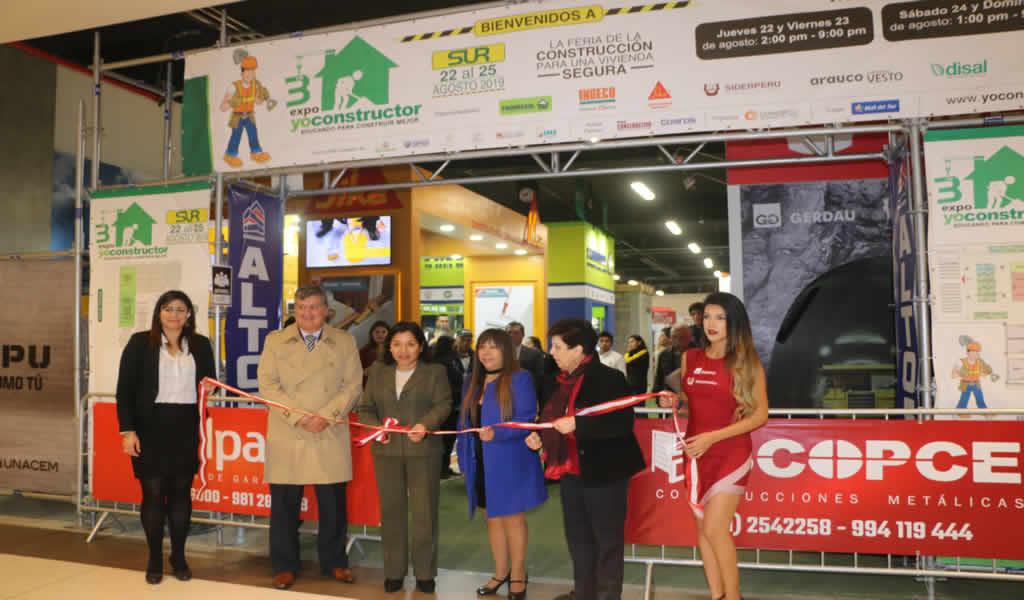Expo Yo Constructor Sur 2019 capacitará a especialistas de la construcción