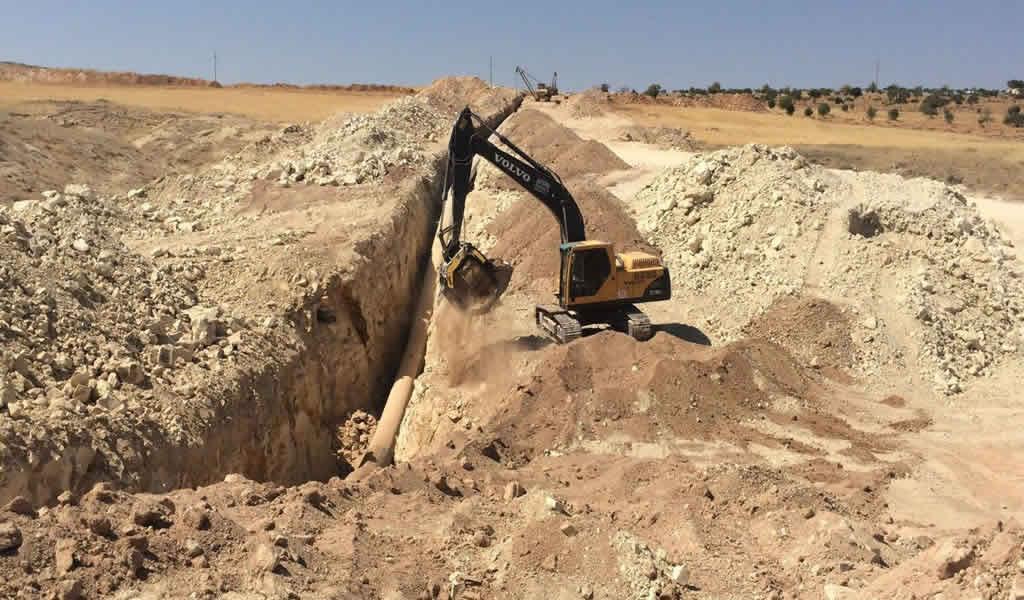 MB Crusher y su viaje en la construcción del gasoducto de Vaca Muerta