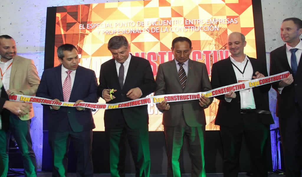 EXPOCONSTRUCTIVO 2019 fue inaugurado por el ministro de Vivienda, Construcción y Saneamiento