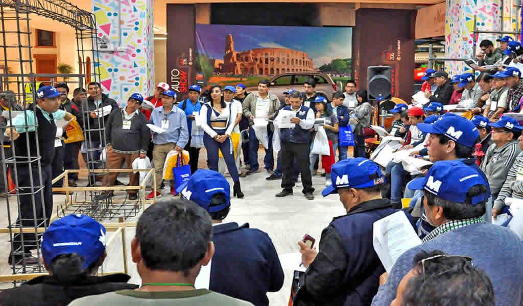 Aceros Miromina participó de la tercera Expo Yo Constructor Sur