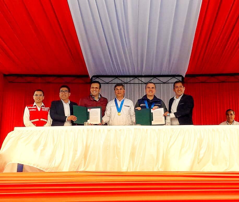 Huarmey contará con nueva red de agua potable y planta de tratamiento de aguas residuales