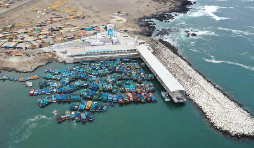 Obras del desembarcadero pesquero de Ilo culminarán a fin de año
